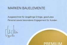 Urkunde Premium Fach Partner 2016