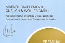 Urkunde Premium Fach Partner 2017