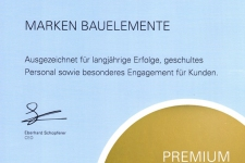 Urkunde Premium Fach Partner 2020