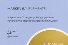 Urkunde Premium Fach Partner 2019