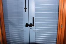 E-5315-E-5329-Ladenverschluss mit Zugring für Doppelladen mit Sicherung
