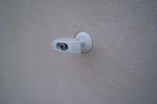 R-224510w-Tür-Ladenhalter mit gefederter Stange