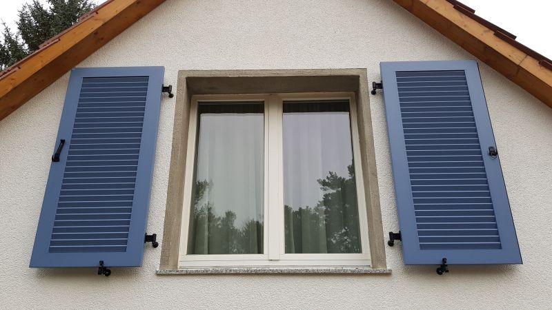 Wm A 59 Wandmontage Aluminium Fensterladen Fensterklappladen