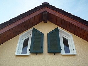 Sonderformen Fensterladen SF